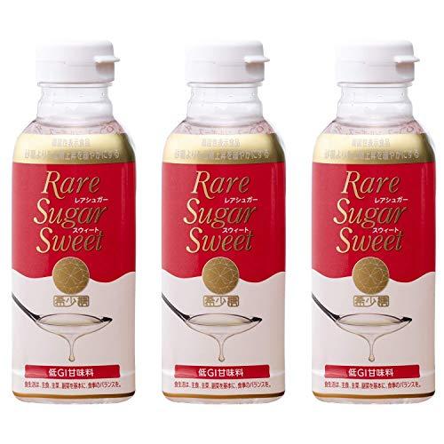 レアシュガースウィート 400g 3本 希少糖含有シロップ 機能性表示食品