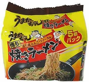 うまかっちゃん 博多焼きラーメン 5個パック