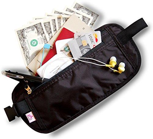 セキュリティポーチ スキミング防止 シークレットポーチ 旅行 パスポートケース 旅行便利グッズ 薄型