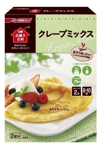 日清お菓子百科 クレープミックス 200g×6個