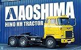 青島文化教材社 1/32 ヘビーフレイトシリーズ No.17 日野 HH トラクターヘッド プラモデル