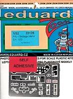 エデュアルド 1/48 F4U-1 バードケージ コルセア 計器盤 カラーズーム プラモデル