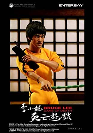 GAME OF DEATH 死亡遊戯/ BRUCE LEE 12inch FIGURE