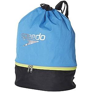 Speedo(スピード) プールバッグ スイムバッグ SD95B04 ジャパンブルー×ブラック