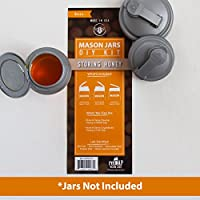 Recap Mason JarsメーカーのDIYキット–Storing Honey :ジャーNot Included