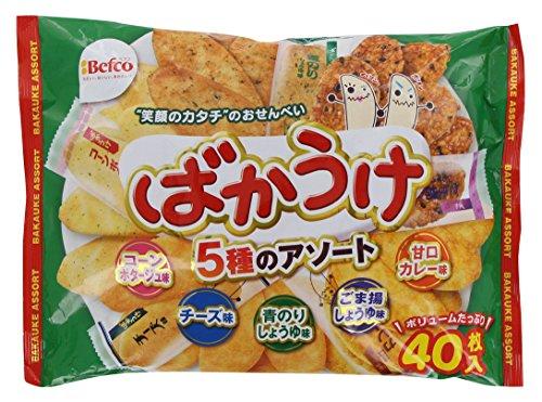 栗山米菓 ばかうけアソート 40枚