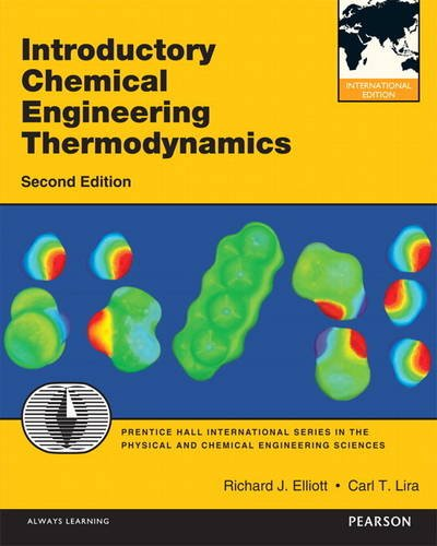 Introductory Chemical Engineering Thermodynamics (International Version)の詳細を見る