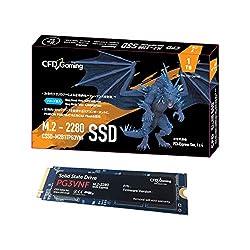 CFD販売 内蔵SSD M.2 2280 NVMe PCI-E Gen.4 x 4(NVMe 1.3) PG3VNFシリーズ 1TB CSSD-M2B1TPG3VNF