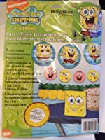 Spongebob Squarepants Party-Time Decoration Kit [並行輸入品]