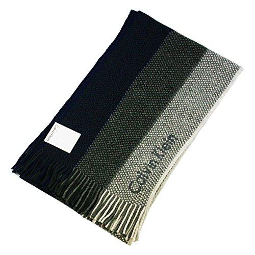 【Calvin Klein】カルバンクライン マフラー HCK63406 (-2 ネイビー ) [並行輸入品]