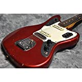 Fender USA / Jaguar Candy Apple Red Matching Head
