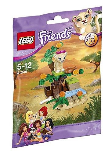 レゴ フレンズ ライオンの赤ちゃんとサバンナ 41048
