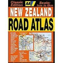 AA New Zealand Road Atlas