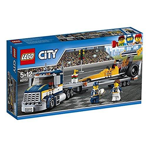 シティ 60151 超高速レースカーとトレーラー
