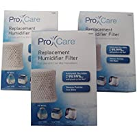 3-Pack Pro Care Replacement Humidifier Filter PCWF2 For Use With Cool Mist Humidifiers Fits Models: Vicks V3700 & V3900 & Relion WA-8D, Kaz, Sunbeam, Honeywell & Many More (See List) [並行輸入品]