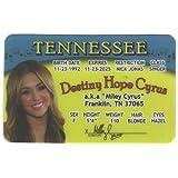 Miley Cyrus Fun Fake ID License by Signs 4 Fun [並行輸入品]