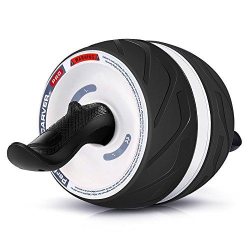 TOQIBO 腹筋ローラー アブホイール アシスト機能 マット付き 静音 スリムトレーナー 腹筋 エクササイズウィル 筋肉 腹筋トレーニング 安全