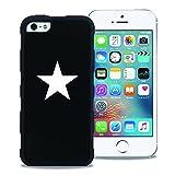 【WAYLLY】iPhone 5 / 5s / 5c / SE 対応兼用ケース, [どこでもくっつくケース] [米軍MIL衝撃吸収規格] ウェイリー アイフォン 耐衝撃 カバー (STAR) ヒルナンデス,スッキリで放送