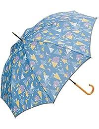 because(ビコーズ) レディース かわいい 冬の森 55cm 手開き傘