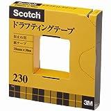 [3M 2113111] スコッチ ドラフティングテープ 幅18mm×巻長30m 芯径76mm