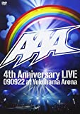 AAA 4th Anniversary LIVE 090922 at Yokohama Arena[AVBD-91756/7][DVD]