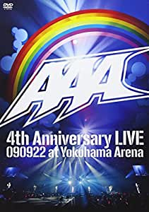 AAA 4th Anniversary LIVE 090922 at Yokohama Arena [DVD]