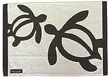 ハワイアン雑貨/フラハワイ ランチョンマット(ホヌ2) GreenHawaii 【ハワイ雑貨】【お土産】