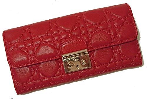 [ディオール]Christian Dior 長財布 レディース MISSDIOR 二つ折 (レッド) CD-1710 [並行輸入品]