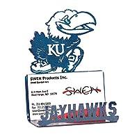 Swen製品カンザスジェイホークスビジネスカードホルダー