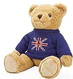 Harrods (ハロッズ) テディーベアー Union Jack Bear teddy bear 30cm [並行輸入品]
