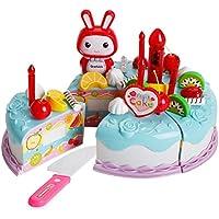 coerni教育ベビーおもちゃCutting Fruit Cakeおもちゃ