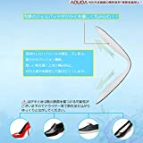 [AOUOA] パカパカ防止 靴ずれ防止 かかとパッド 靴かかと保護パッド かかと半コードパッド (黒色) (4足8枚入り) 画像