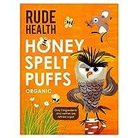 (Rude Health (失礼な健康)) 蜂蜜綴らパフの175グラム (x4) - Rude Health Honey Spelt Puffs 175g (Pack of 4) [並行輸入品]