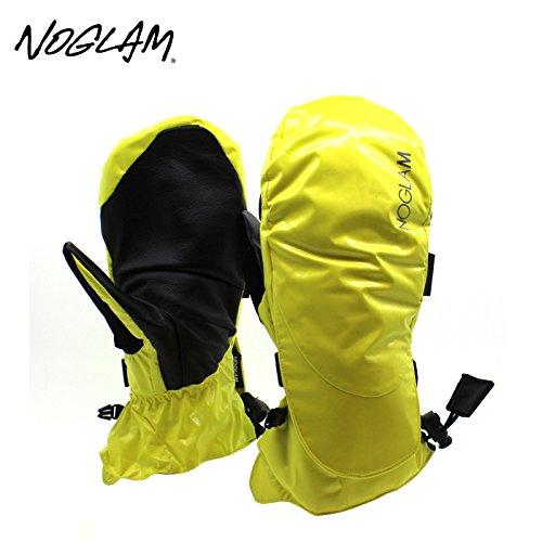 (ノーグラム)NOGLAM 2015年モデルnog-117 グローブ THE MOUNTAIN IICUT MITTEN/YELLOW SHINY 日本正規品 ミトン S