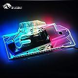 GPUウォーターブロックフルカバーウォーターリキッド冷却RGB LED GPUブロック(GIGABYTE用)GIGABYTE AORUS GeForce RTX 2080Ti 11G +コントローラー
