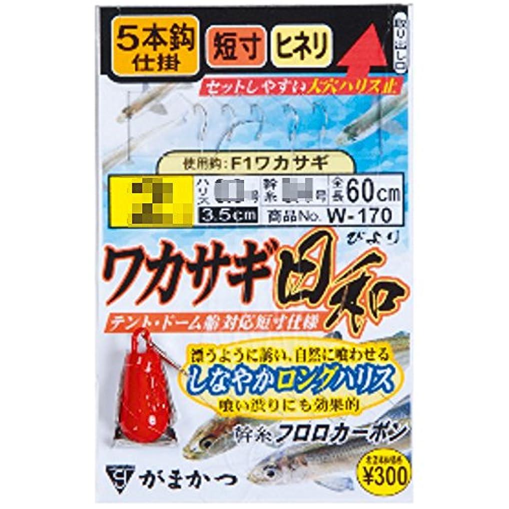 顕著ランプアリーナがまかつ(Gamakatsu) ワカサギ日和 フック W-170 釣り針
