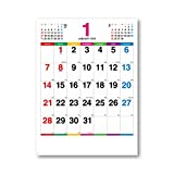 新日本カレンダー 2018年 カラーラインメモ カレンダー 壁かけ NK174
