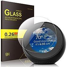 Echo Spot Screen Protector Glass, IVSO Premium Tempered-Glass Screen Protector for Amazon Echo Spot , 1 Pack