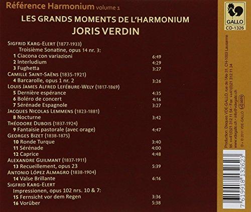 Reference Harmonium Vol. 1: Les Grands Moments De L'harmonium