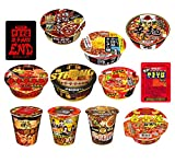 [12品種] 辛いカップ麺 詰合せ [数量限定] 食べ比べ 詰め合わせ 12種セット (計12食) [192A]