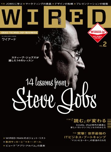 WIRED (ワイアード) VOL.2 (GQ JAPAN2011年12月号増刊)