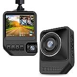 EOKSHI デュアルレンズドライブレコーダー 2.3 インチ LCD HD 1080P夜間撮影対応 前後レンズ 170°広角 Gセンサー 常時録画 WDR 駐車記録