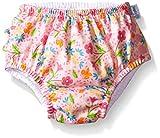 アイプレイ iplay オムツ機能付 水遊び用パンツ スイムダイパー スイミングパンツ 女の子 3T:3歳 PinkSpringGarden