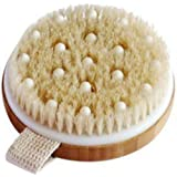 C.S.M. Body Brush for Wet or Dry Brushing - Gentle Exfoliating for Softer, Glowing Skin - Get Rid of Your Cellulite and Dry S