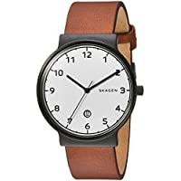 Skagen Men's Ancher Analog Analog-quartz Brown Watch, (SKW6297)