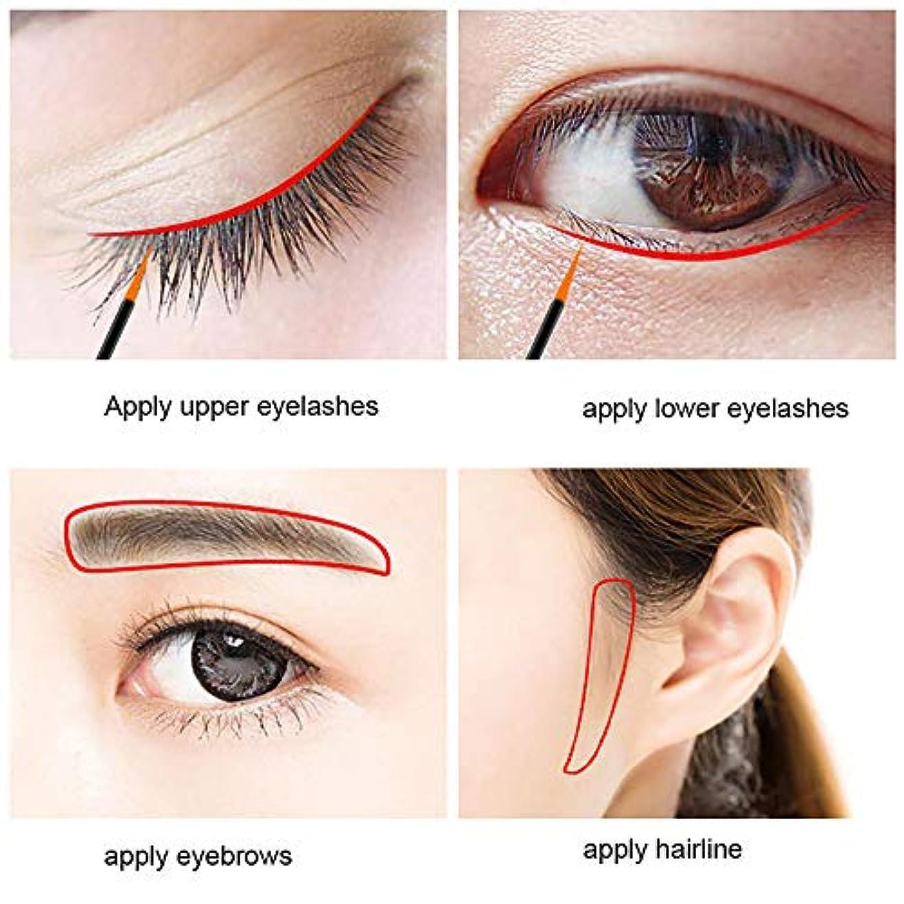 大理石偏心労働眉毛まつげ速い急速な成長の液体エンハンサー栄養液栄養
