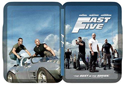 Fast Five Combo Steelbook-Ext Ed [Blu-ray]