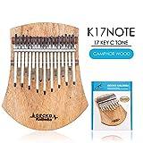 ACHICOO カリンバ GECKO 17 Key Kalimba Thumbピアノ・フィンガー・パーカッション・ミュージック