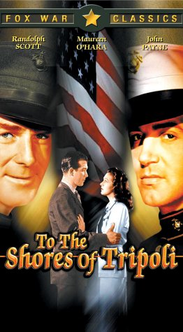 To the Shores of Tripoli [VHS]