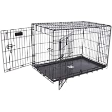 """Petmate""""ProValu"""" Wire Dog Crate, Two Doors, Precision Lock System, 6 Sizes"""